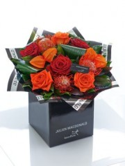 Julien Macdonald Dazzling Autumn Rose Hand-tied
