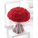 Ultimate 100 Rose Hand-tied