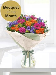 Blooming Brights Hand Tied
