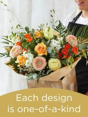 Hand-tied Bouquet £70