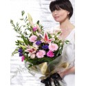 Pretty Pinks Presentation Bouquet