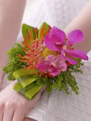 Exotic Wrist Corsage